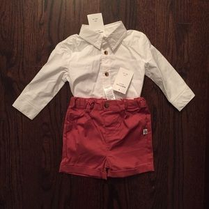 NWT little brother outfit - 2pc shorts and shirt